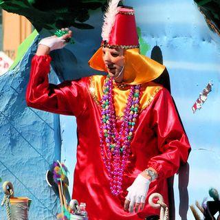 mardi gras parade new orleans LA