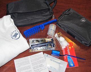 Delta overnight kit for lost luggage