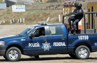 Mexician federal police