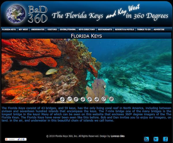 Website_360floridakeys.com