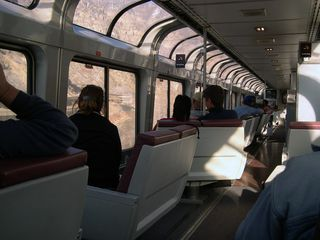 Amtrak Lounge Car