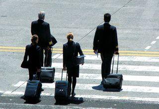 Pilots And Stewardess