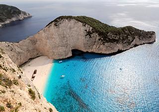 navagio / shipwreck beach Greece