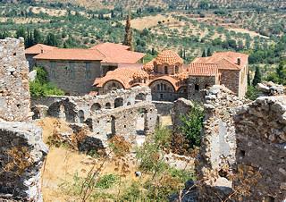 Mystras Greece