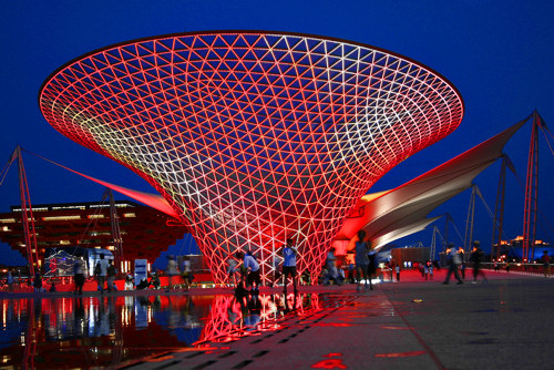 2010 World Expo Axis Night Scene