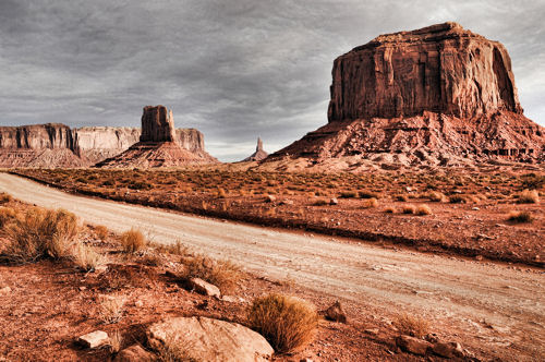 Monument Valley on the Navajo Indian Reservation