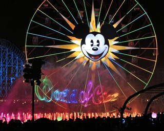 World Of Color at Disney Californai Adventure