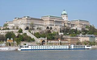 Buda Castle along the Danube