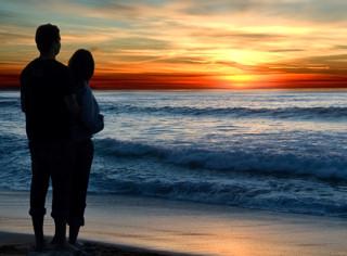 Romantic Hawaii Sunset