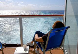 Passenger On Atalantic Crossing Cruise