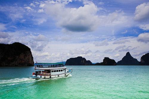 Cruise On Phang Nga Bay, Phuket Island, Thailand