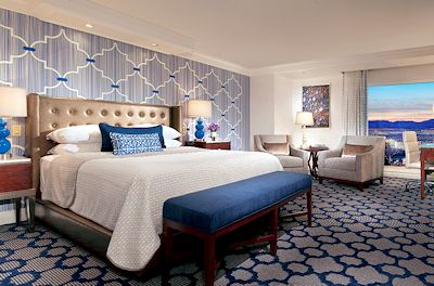 Photo of a newly remodeled Bellagio Room. Photo provided by Bellagio.