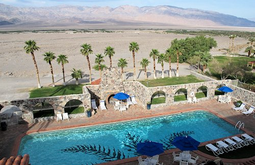 Pool at the Inn At Furnace Creek, Death Valley National Park, California