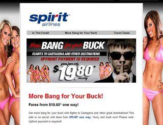 Spirit Ad - SpiritAirlines.com