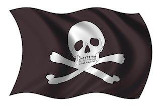 pirates on disney ship