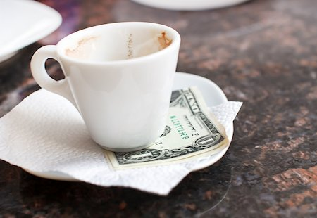 Tipping for coffee