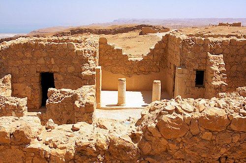 Ruins at Masada